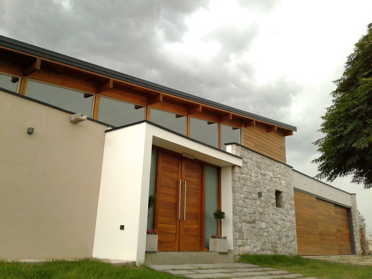 Viviendas Loteo Las Lavandas Casas modernas: Ideas, imágenes y decoración de Azcona Vega Arquitectos Moderno