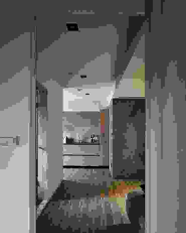 淡水許宅 現代廚房設計點子、靈感&圖片 根據 晨室空間設計有限公司 現代風