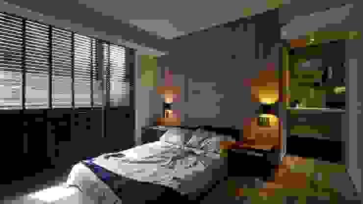 淡水許宅 根據 晨室空間設計有限公司 現代風