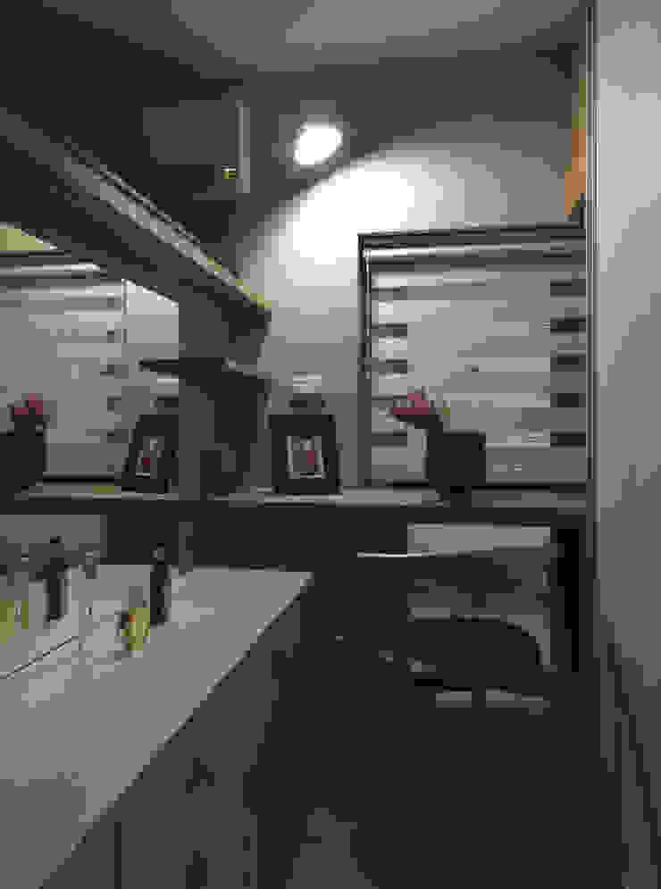 小小的森屋 根據 賀澤室內設計 HOZO_interior_design 隨意取材風