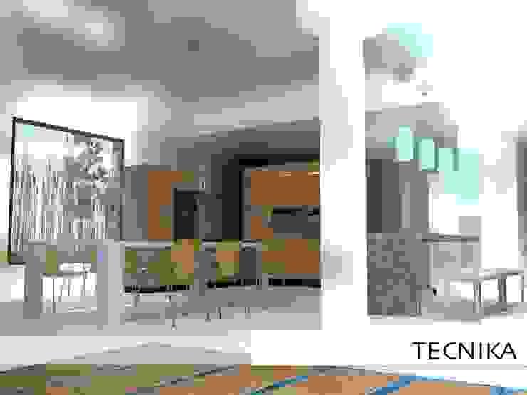 kitchen de TECNIKA Arquitectura e Ingenieria