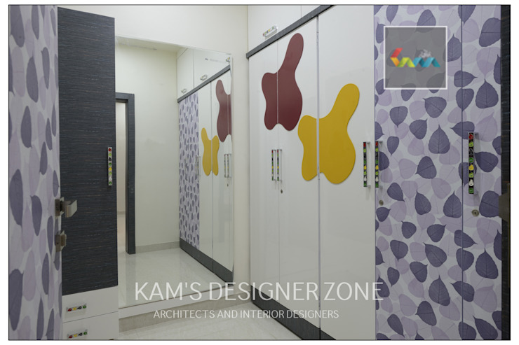 Dressing Room Design: classic  by KAM'S DESIGNER ZONE,Classic