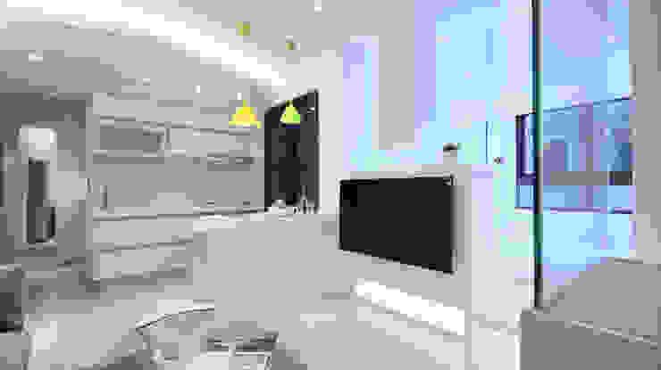 幸福閃亮心動力 现代客厅設計點子、靈感 & 圖片 根據 瓦悅設計有限公司 現代風