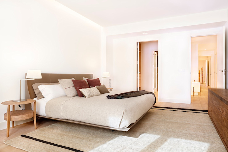 Modern style bedroom by 02_BASSO Arquitectos Modern