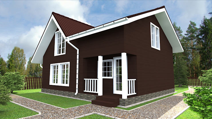 Scandinavian style houses by homify Scandinavian Wood Wood effect