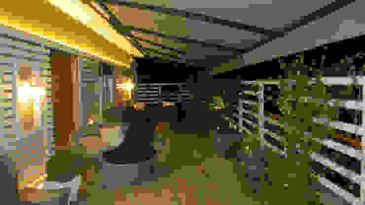 Balcones y terrazas modernos de Fabio Valente Studio di architettura e urbanistica Moderno