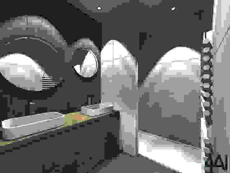 Modern bathroom by Agence 4ai Modern