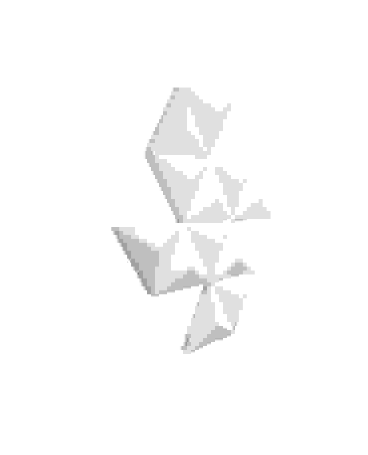 Designer Heizkörper Diamond in weiss Moderne Esszimmer von RF Design GmbH Modern Eisen/Stahl