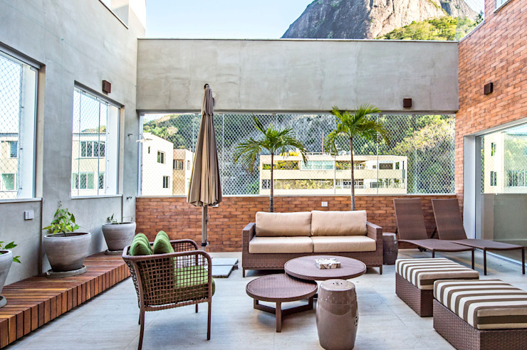 Patios & Decks by homify, Modern