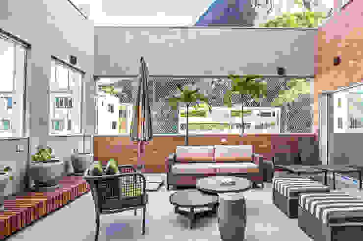 Balcon, Veranda & Terrasse modernes par homify Moderne