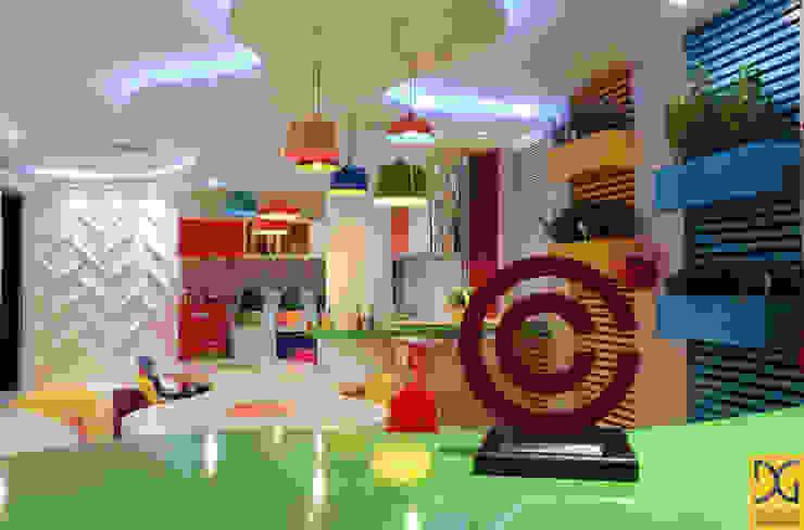 Moderne Küchen von Estúdio DG Arquitetura Modern