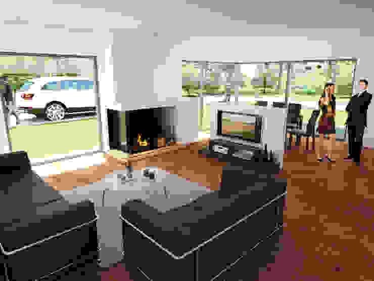 Modern Living Room by Carsten Krafft Die Architektur Modern