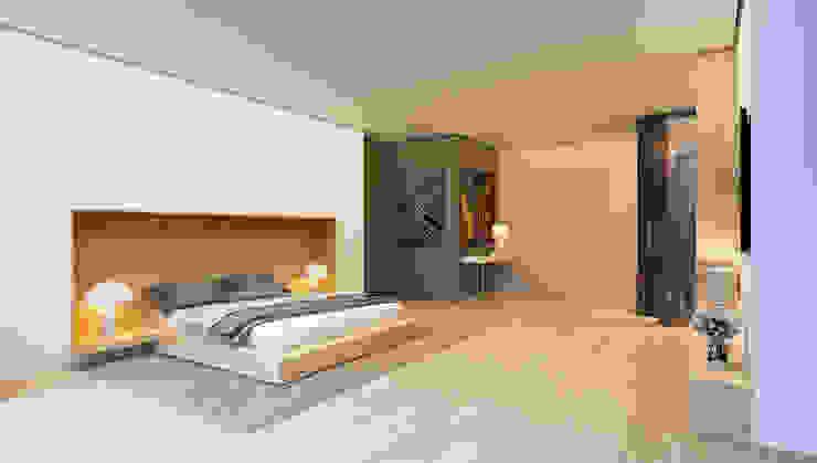 Chambre de style  par ALEXANDER ZHIDKOV ARCHITECT