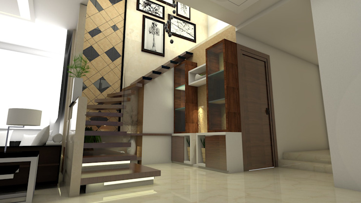 Staircase view by Ar. Ananya Agarwal