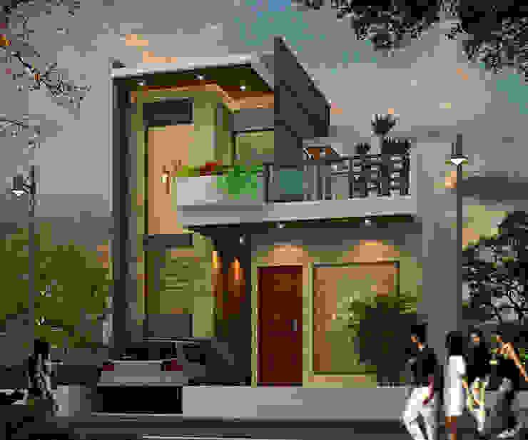 Elevation option 1 by Ar. Ananya Agarwal