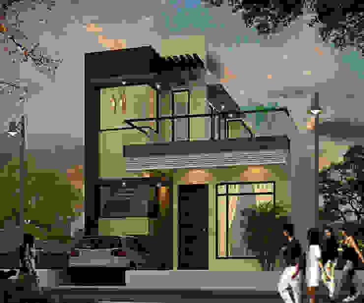 Elevation option 2 by Ar. Ananya Agarwal