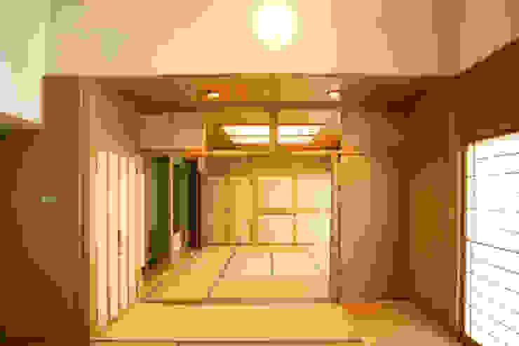リビング(和室リビング) 和風デザインの リビング の 吉田設計+アトリエアジュール 和風