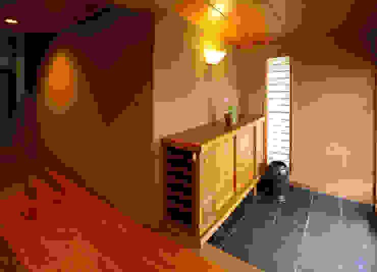 玄関 和風の 玄関&廊下&階段 の 吉田設計+アトリエアジュール 和風