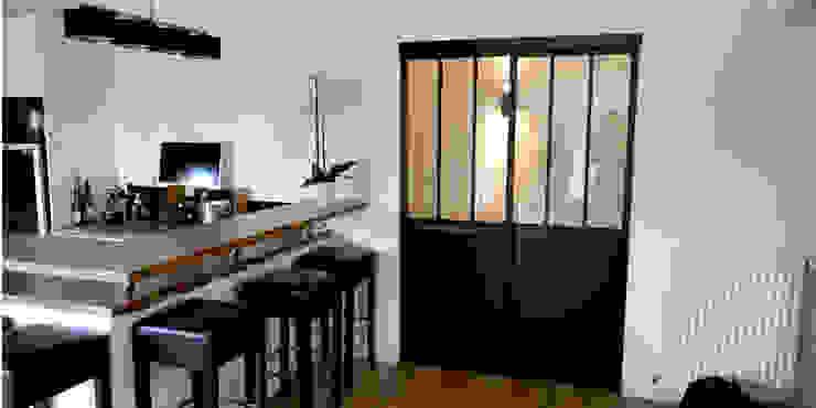 Maison M.F: Cuisine de style  par Ophélie Dohy architecte d'intérieur, Moderne