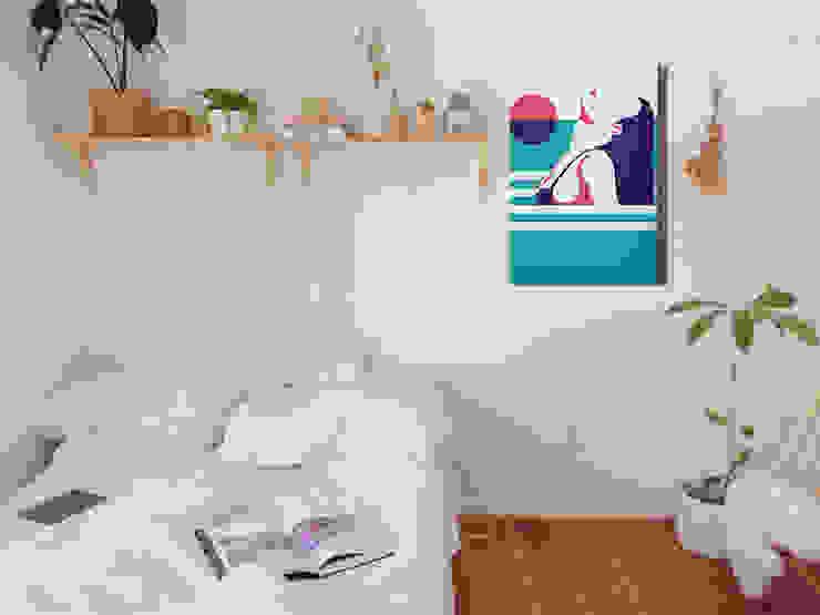 Cuadros decorativos modernos para casa u oficina de crafted mx Minimalista