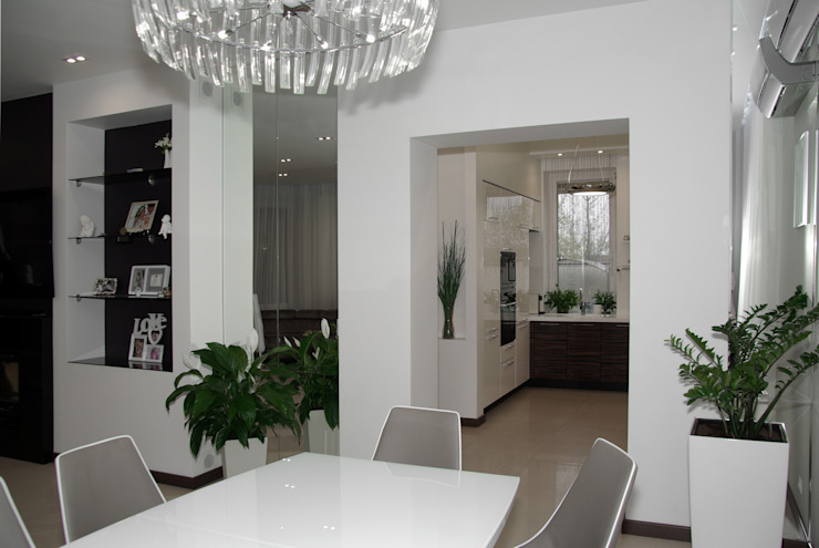 Eclectic style dining room by Archi-S Eclectic