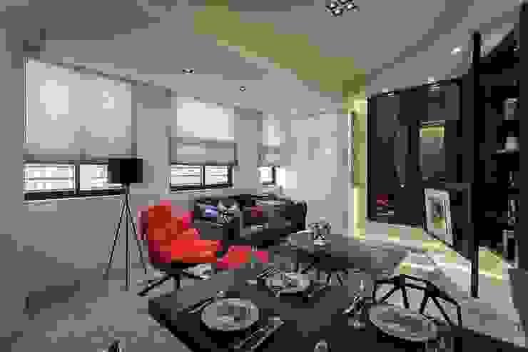 開放空間 Modern Living Room by 你你空間設計 Modern