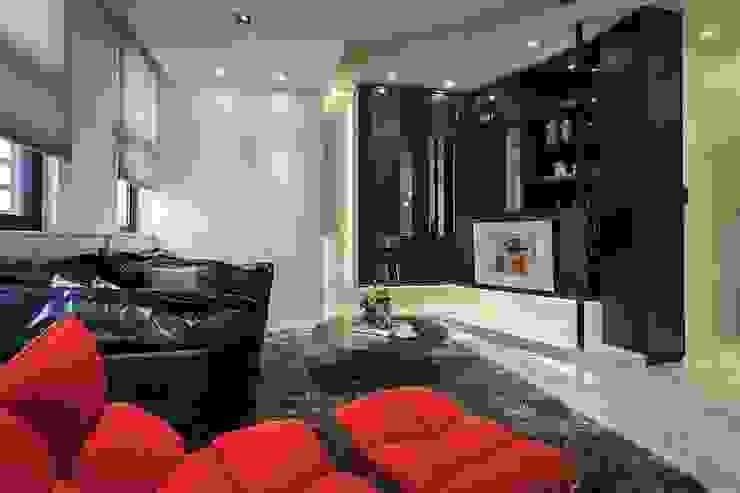 電視牆 Modern Living Room by 你你空間設計 Modern