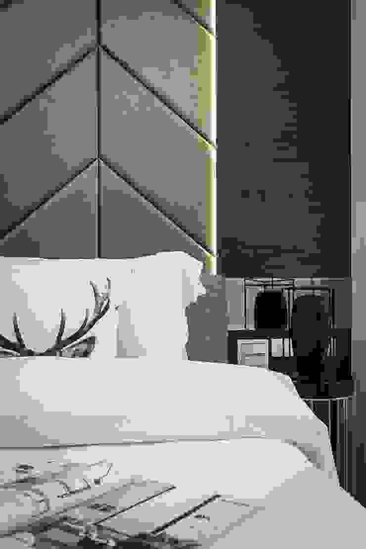 主臥床頭 Modern Bedroom by 你你空間設計 Modern