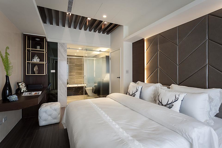 主臥 Modern Bedroom by 你你空間設計 Modern