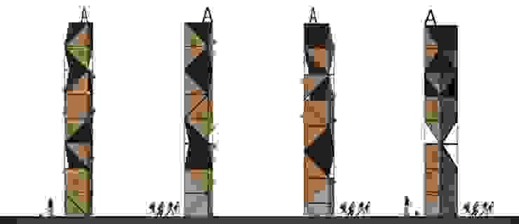 ALT. Altaria Casas modernas de Arq German Tirado S Moderno