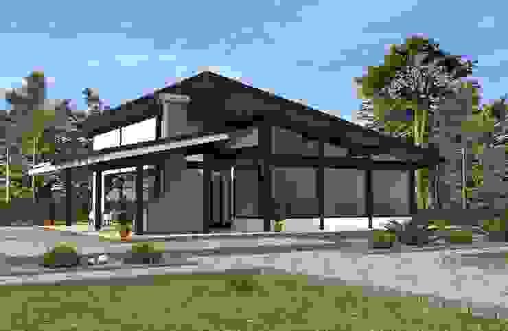 Casas estilo moderno: ideas, arquitectura e imágenes de homify Moderno Madera Acabado en madera
