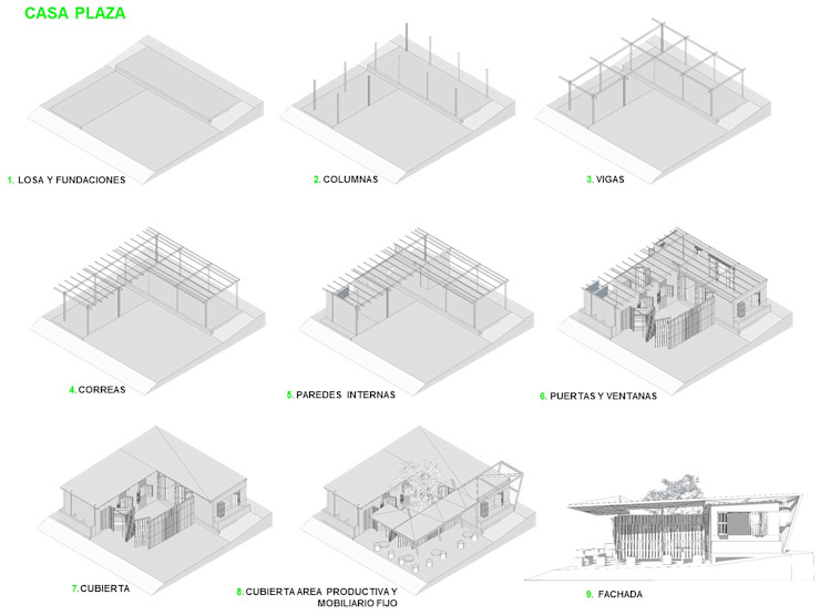 Minimalist house by Taller de Desarrollo Urbano Minimalist