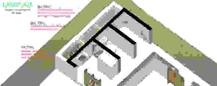 Nhà phong cách tối giản bởi Taller de Desarrollo Urbano Tối giản