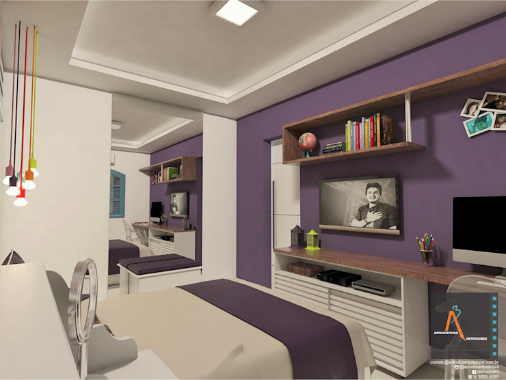 Modern style bedroom by homify Modern MDF