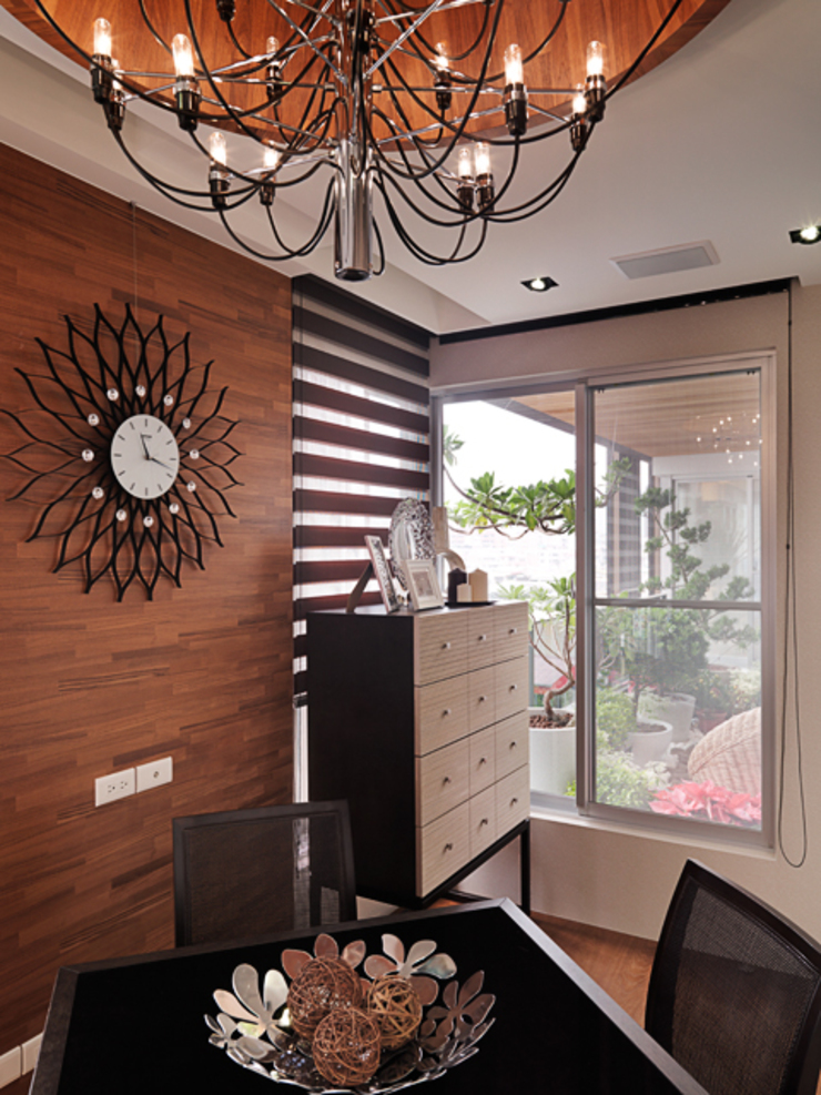 Classic style media rooms by 大集國際室內裝修設計工程有限公司 Classic