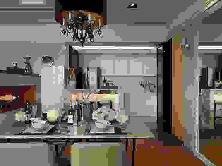 Classic style dining room by 大集國際室內裝修設計工程有限公司 Classic