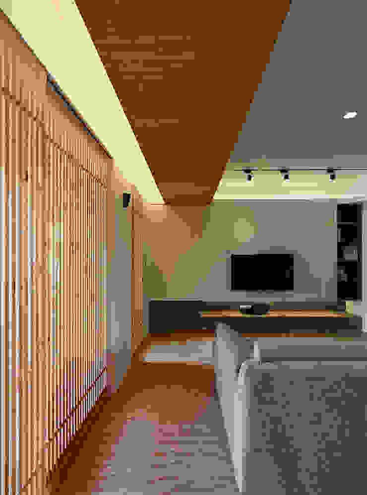 無印日式況味~彷彿漫舞日光輕井澤 根據 大集國際室內裝修設計工程有限公司 日式風、東方風