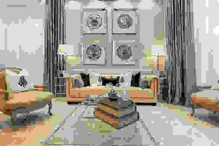 House renovation in Holland park Modern Living Room by APT Renovation Ltd Modern Marble