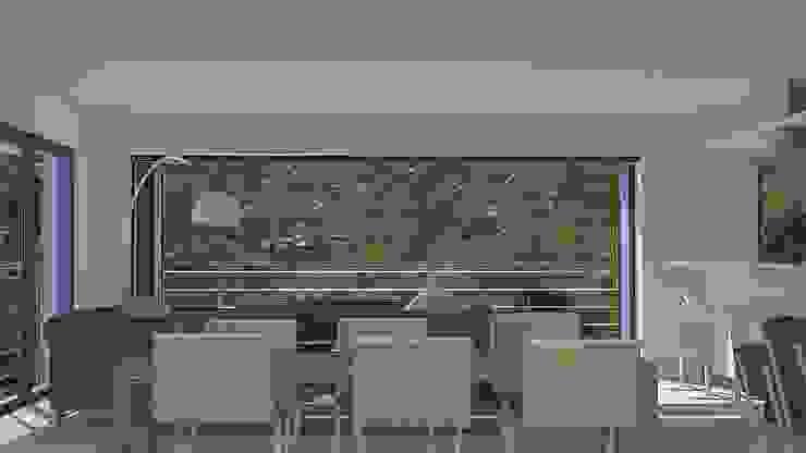 dining area Modern dining room by Till Manecke:Architect Modern
