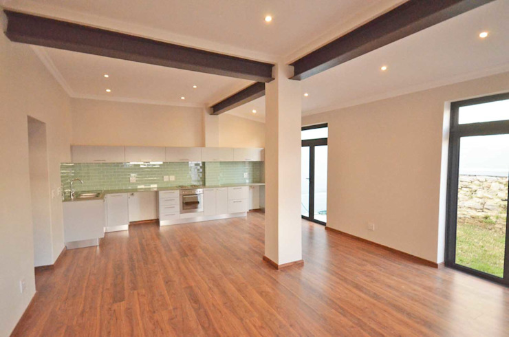 open plan living room Till Manecke:Architect Living room