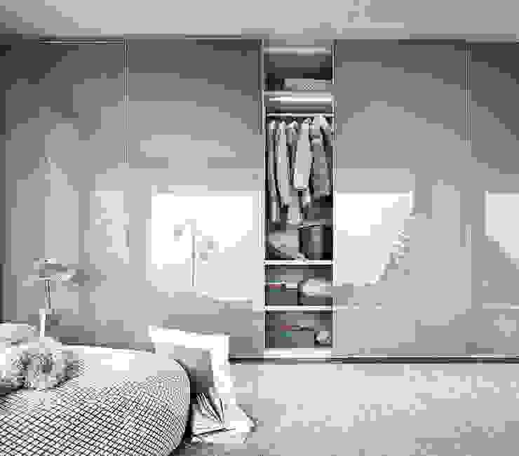 FINA SLIDING DOOR WARDROBE de IQ Furniture Moderno