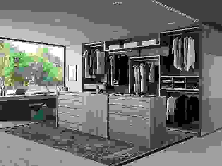 VARIUS FREE WALK-IN WARDROBE de IQ Furniture Moderno