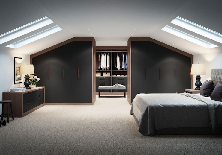 MAYFAIR HINGED DOOR WARDROBE de IQ Furniture Moderno