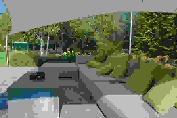 loungeset Landelijke tuinen van Tuintechnisch Bureau Smeulders Landelijk