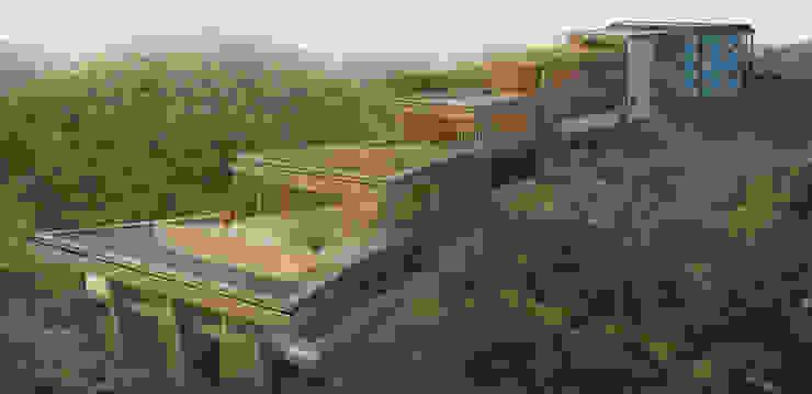 casa Barra do Una: Casas  por mgoes arquitetura + design,Moderno