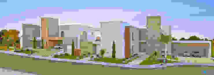 Casas modernas de FARO ARQUITETURA LDTA-ME Moderno