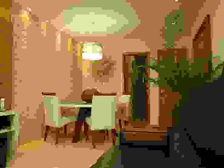 Debiaze Arquitetura غرفة السفرة رخام Beige