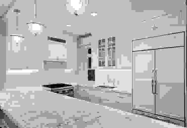 Renovation on 82nd Street Modern Kitchen by KBR Design and Build Modern