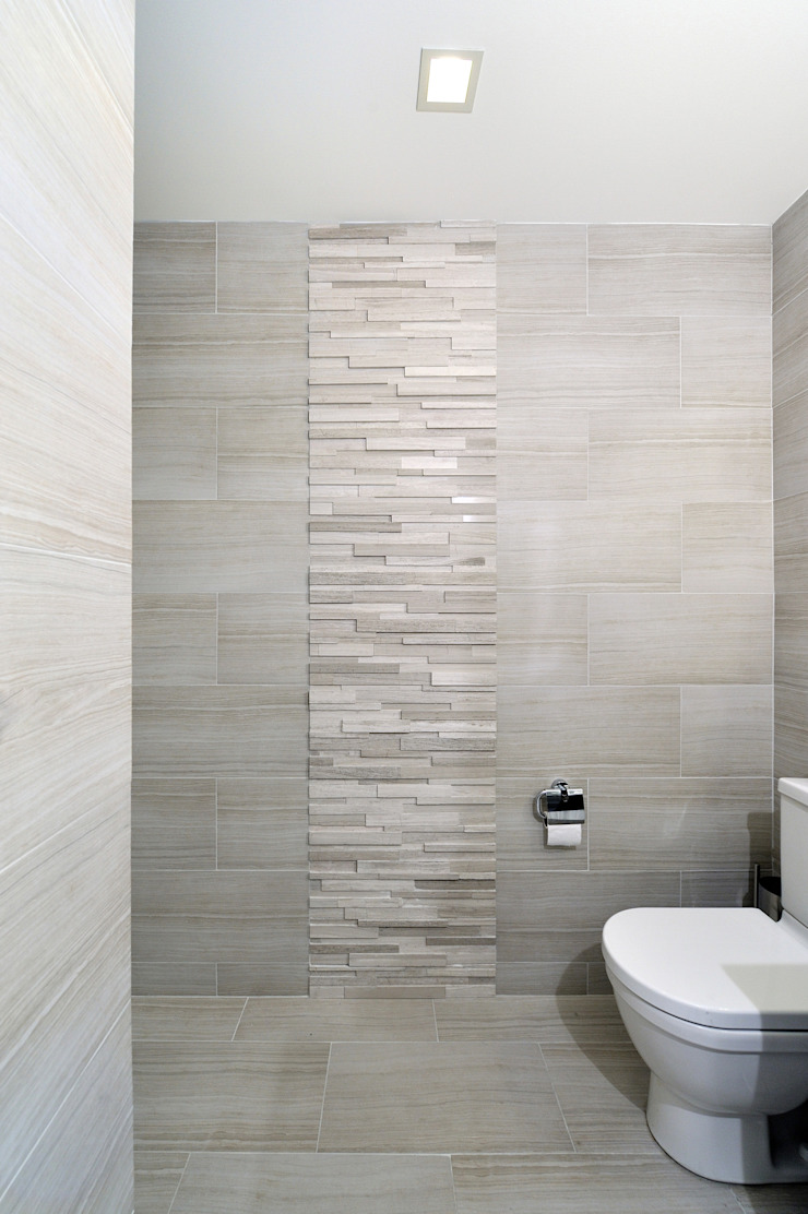 Apartment Remodel on West 52nd St. Minimalist style bathroom by KBR Design and Build Minimalist