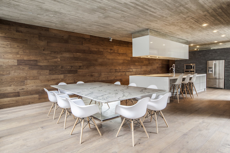 Casa F12 - Miguel de la Torre Arquitectos Comedores modernos de Miguel de la Torre Arquitectos Moderno